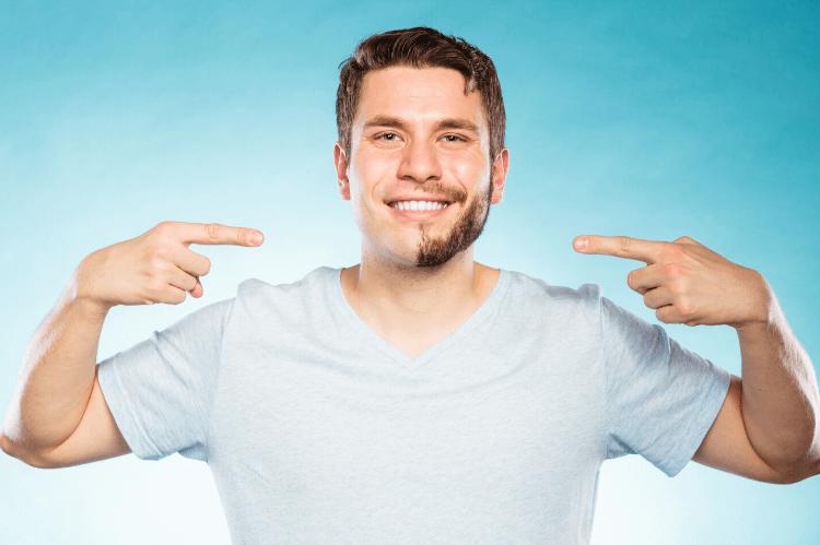 男のヒゲ、ビジネスプロフィール写真の撮影に影響ある?ない?4