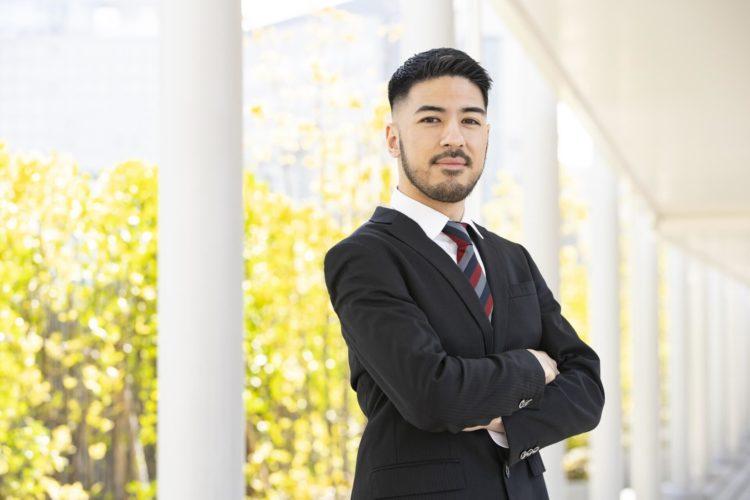 男のヒゲ、ビジネスプロフィール写真の撮影に影響ある?ない?1